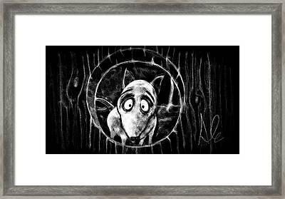 Sparky Framed Print