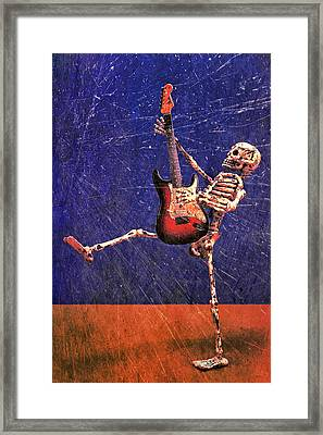 Sparky Framed Print by Jeff Gettis