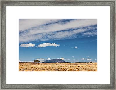 Framed Print featuring the photograph Sparse by Rick Furmanek