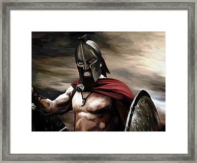 Spartan Framed Print by James Shepherd