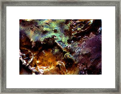 Spatial Interface I Framed Print by Kika Pierides