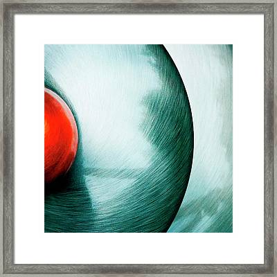 Framed Print featuring the photograph Spatial by Richard George
