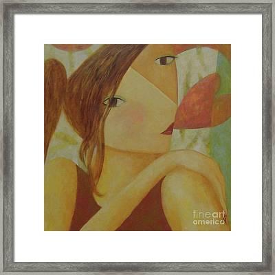 Speak With Your Heart Framed Print by Glenn Quist