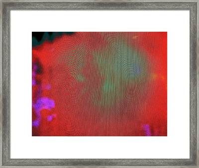 Speaking To A Ghost Framed Print