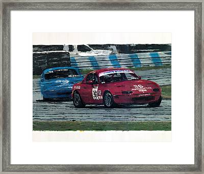 Spec Miata 1 Framed Print by James Haas