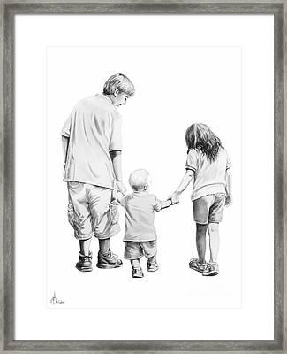 Special Children Framed Print by Murphy Elliott