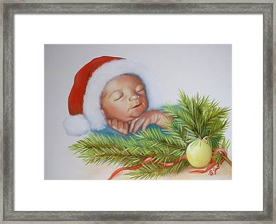 Special Christmas Delivery Framed Print by Joni McPherson
