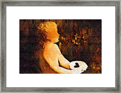 Special Delivery Framed Print by Holly Ethan