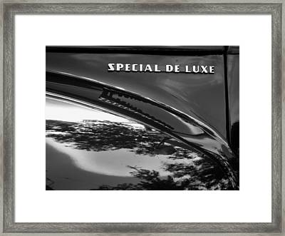 Special Deluxe Framed Print