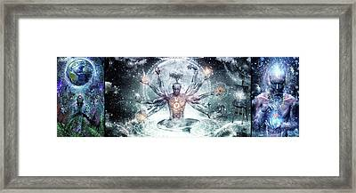 Special Edition Three In One Panel Gratitude Set Framed Print