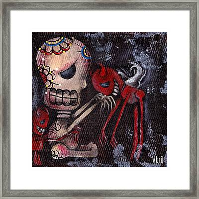 Special Friends Framed Print by  Abril Andrade Griffith