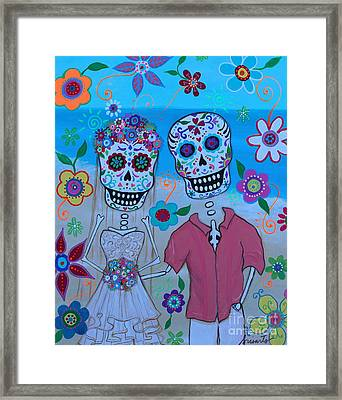 Special Mexican Wedding Framed Print