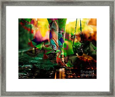 Special Moment Camera Collection Framed Print by Marvin Blaine