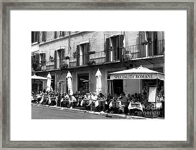 Specialita Romane Framed Print by John Rizzuto