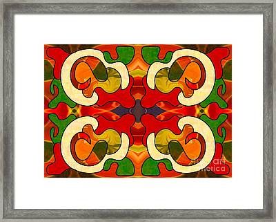 Specialized Suggestions Abstract Art By Omashte Framed Print by Omaste Witkowski