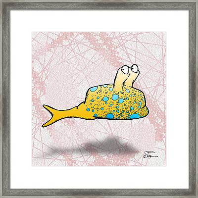 Speckle Framed Print
