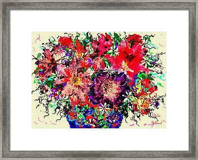Spectacular Flowers Framed Print
