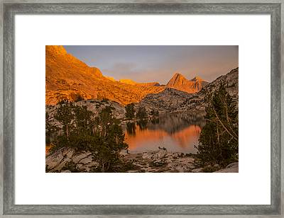Spectacular Sunset Framed Print