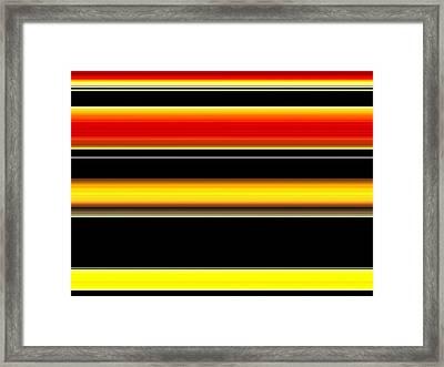 Spectra 10112 Framed Print by Chuck Landskroner