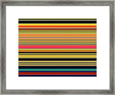 Spectra 10130 Framed Print by Chuck Landskroner