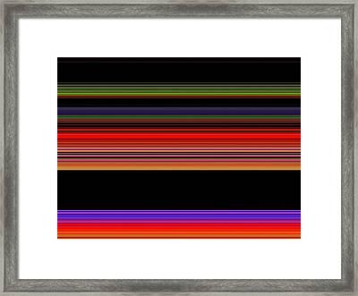 Spectra 10145 Framed Print by Chuck Landskroner