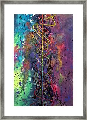 Spectrum Framed Print by Chel Bieze