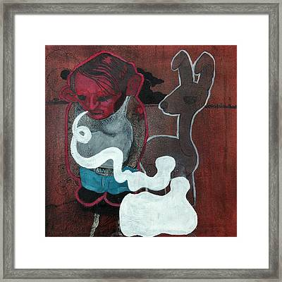Speechless  Framed Print by Konrad Geel