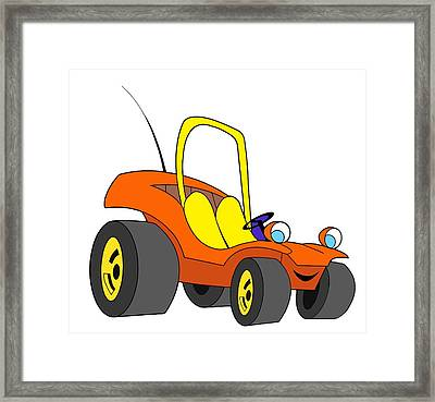 Speed Buggy Framed Print by Gustavo Oliveira