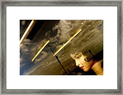Speed It All Away Framed Print by Jez C Self