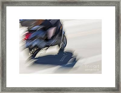Speed Framed Print by Kate Brown