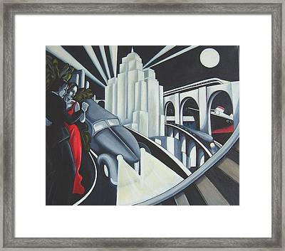 Speed Framed Print by Rosie Harper