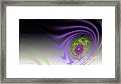Speed Framed Print by Sandra Bauser Digital Art