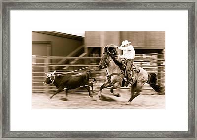 Speed Framed Print