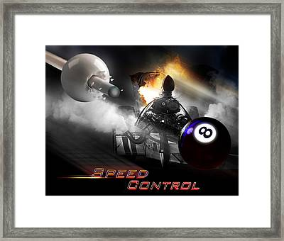Speedcontrol Framed Print by Draw Shots