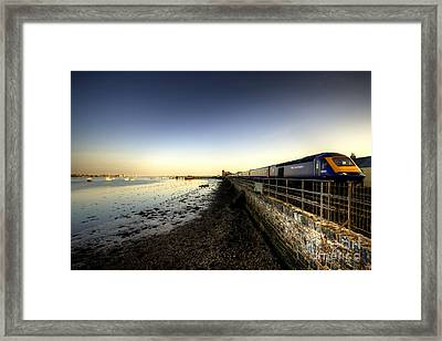 Speeding Thro Starcross Framed Print