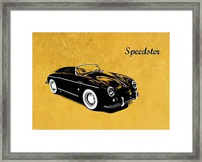 Speedster Framed Print by Mark Rogan
