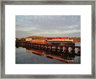 Speedway To Sunshine Framed Print