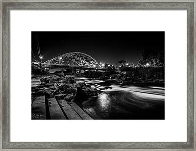 Speer Blvd. Bridge Framed Print by Richard Raul Photography