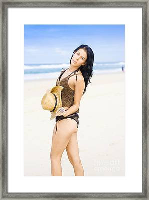 Spellbound Beach Beauty Framed Print by Jorgo Photography - Wall Art Gallery