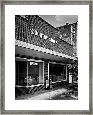 Spencer Country Store Framed Print by Patrick M Lynch