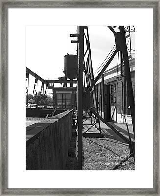 Spencer Shops  B W Framed Print