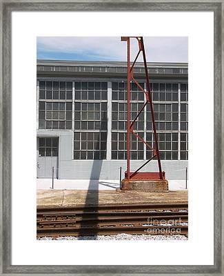 Spencer Shops Wall Framed Print