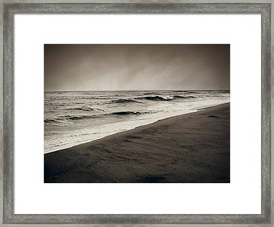 Spending My Days Escaping Memories Framed Print
