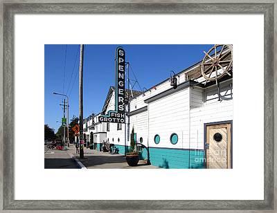 Spengers Restaurant Berkeley California Framed Print by Wingsdomain Art and Photography