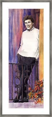 Spenser 01 Framed Print by Yuriy  Shevchuk