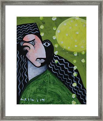 Speramus The Face Of Denial  Framed Print by Mark M  Mellon
