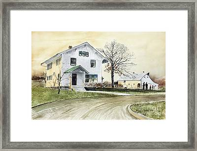 Sperry Homestead Framed Print