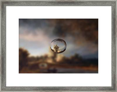 Sphere 13 Rembrandt Framed Print by David Bridburg