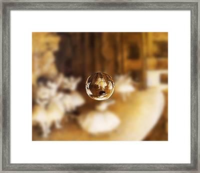 Sphere 15 Degas Framed Print