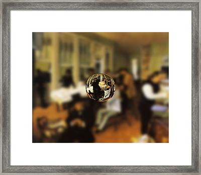 Sphere 17 Degas Framed Print